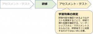 図2:アセスメント・テストで学習効果を測定する