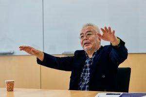 企業の人材育成の潮流をインタビューする楠田祐氏(HRエグゼクティブコンソーシアム代表)